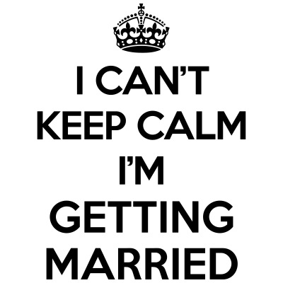 Keep Calm Married