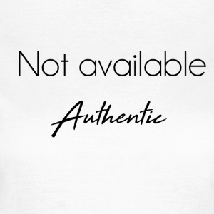 Not available authentic - T-shirt Femme