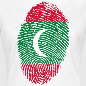 MALDIVES FINGERPRINT ZOMERZON SEA - Vrouwen T-shirt