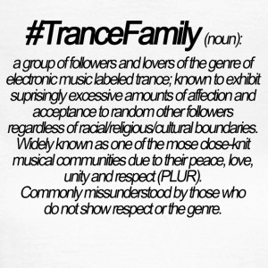 Definition of Trance Family - Women's T-Shirt