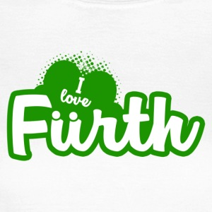 I Love Fürth - Frauen T-Shirt