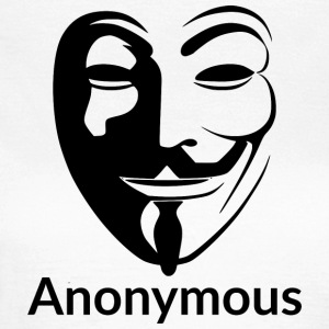 anonymous-png - Camiseta mujer