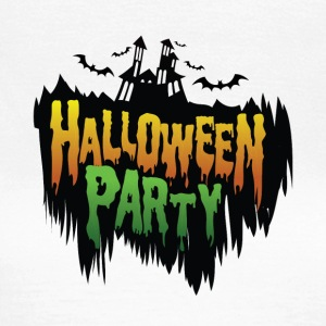 Helloween party - Chateau - bat - Vrouwen T-shirt