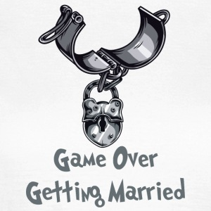 Game Over Getting Married - T-shirt Femme