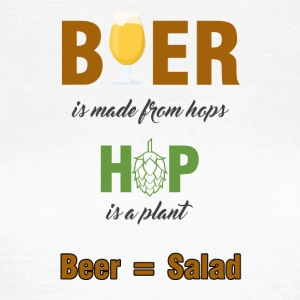 Beer - Beer is made from hops ... - Women's T-Shirt
