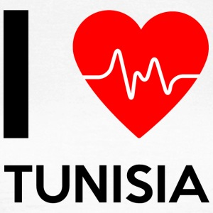 I Love Tunisia - I Love Tunisia - Women's T-Shirt