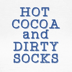 hot chocolate and dirty socks - Women's T-Shirt