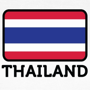 National Flag Of Thailand - T-skjorte for kvinner