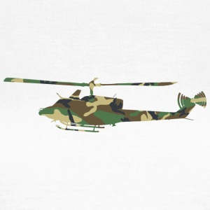 Camouflage Helicopter - Women's T-Shirt