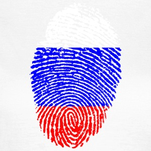 Fingerprint - Russia - Women's T-Shirt