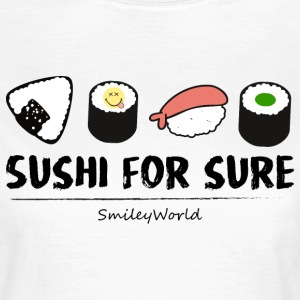 Smiley World Sushi For Sure Funny Quote