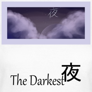 The Darkest 夜 - Women's T-Shirt