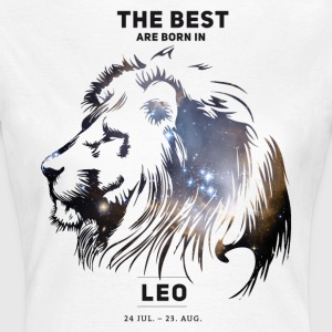 leo-star Leo konstellation horoskop juli fødselsdag b - Dame-T-shirt