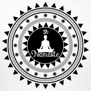 namaste ornament - Dame-T-shirt