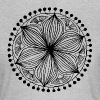Black Frankie Mandala - Women's T-Shirt