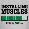 Installing Muscles (Please Wait) - Dame-T-shirt