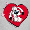 Asterix & Obelix - Idefix heart Teenager T-Shirt - Women's T-Shirt