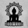 Buddha Meditation, Yoga, Lotus, Om, Buddhism - Women's T-Shirt