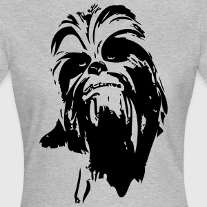 chewbacca monster fur hair star boyfriend - Women's T-Shirt