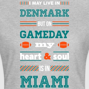 I may live in Denmark... (Miami edition) - Dame-T-shirt