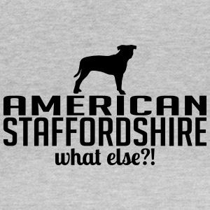 whatelse AMERICAN STAFFORDSHIRE - Camiseta mujer