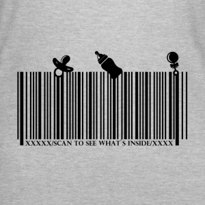 Baby Barcode SCAN TO SEE WHAT'S INSIDE - Women's T-Shirt