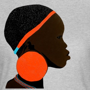 african mursi girl 2 - Women's T-Shirt
