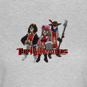 3 musketerer - Dame-T-shirt