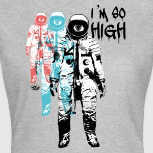 High Cosmonaut Travel Flight Trip - Dame-T-shirt