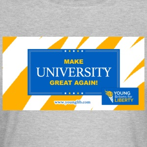 MUGA: Maak University Great Again - Vrouwen T-shirt