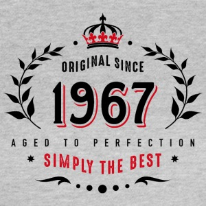 original since 1967 simply the best 50th birthday - Frauen T-Shirt