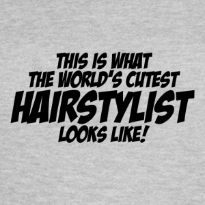 worlds cutest hairstylist - Women's T-Shirt