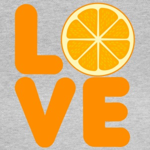 Frucht / Früchte: Love Orange - Frauen T-Shirt
