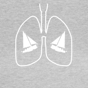 Lungs sailboat sails - Women's T-Shirt