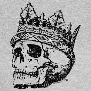 death and crown of head Drawing - Women's T-Shirt