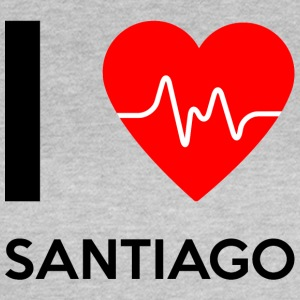 I Love Santiago - I Love Santiago - T-skjorte for kvinner