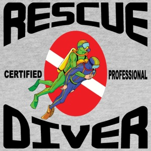 SCUBA Rescue Diver - Frauen T-Shirt