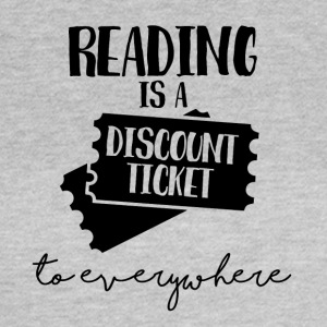 Nerd / Nerds: Reading is a Dicount ticket to ... - Women's T-Shirt