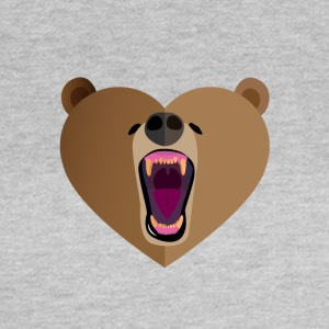 Grizzly Love - Vrouwen T-shirt