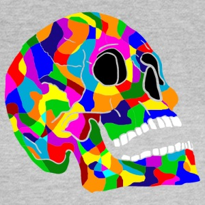 Colorful skull skulls Skull - Women's T-Shirt