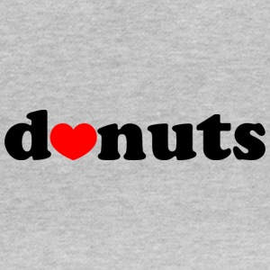 D ♥ nuts - Donuts - Women's T-Shirt