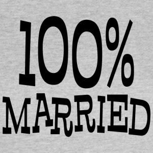 Just Married 100% - Women's T-Shirt