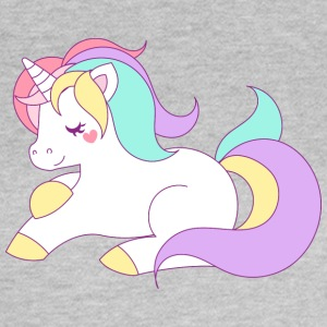 söt Unicorn - T-shirt dam