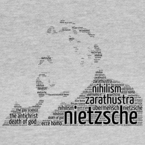 nietzsche stencil word cloud - Women's T-Shirt