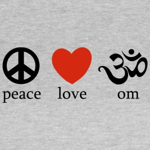 Peace Love Yoga - Frauen T-Shirt