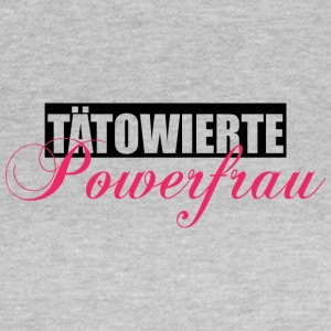 Tätowierte Powerfrau - Frauen T-Shirt