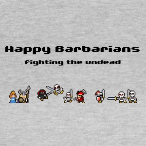 Happy Barbarians - Fighting the undead - Women's T-Shirt