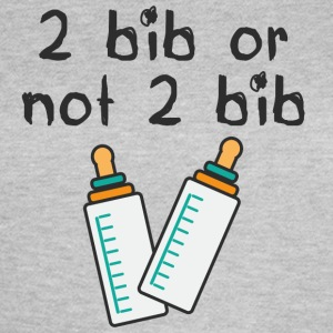 2 bib or not 2 bib (by www.recretariat.com) - Women's T-Shirt