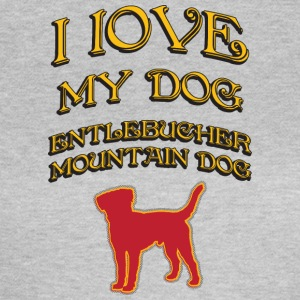 I LOVE MY DOG Entlebucher Mountain Dog - Women's T-Shirt
