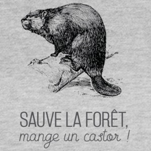 Saves the forest, eat a beaver! - Women's T-Shirt